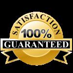 Satisfaction 100% Guaranteed
